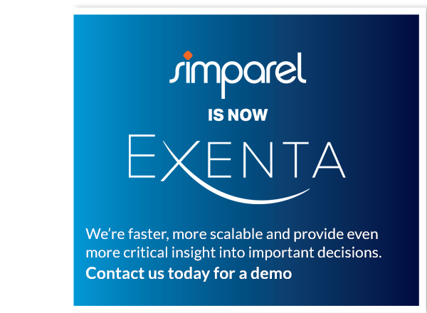 Simparel Rebrands as EXENTA Reflecting its Business Transformation